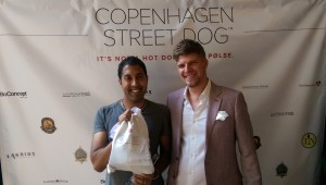 Beer and Pølse @ the Copenhagen Street Dog launch party
