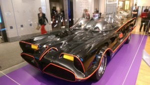 To the Batmobile! Unveilling of the upcoming Gotham exhibit