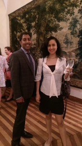 Receptions at the consulate