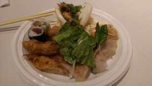 Guests enjoyed a mix of Japanese and Taiwanese cuisine