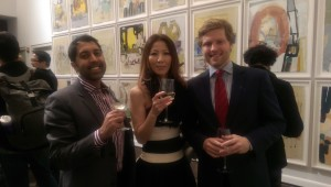 Art reception at the Germain Consulate