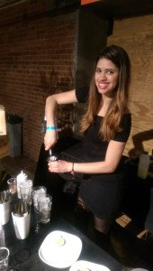 Beautiful bartender but the drink was far too sweet for my liking