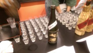 Tenzin Sake from Saga was a big hit.