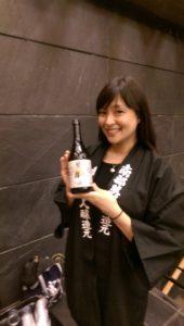 Sake and smiles at The Japan Society