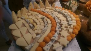 Rows of pure goodness. French Cheese Board